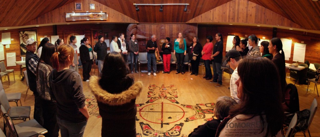 Storytelling circle, Vancouver