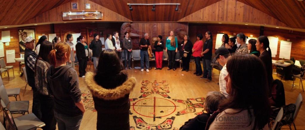 Storytelling circle, Vancouver
