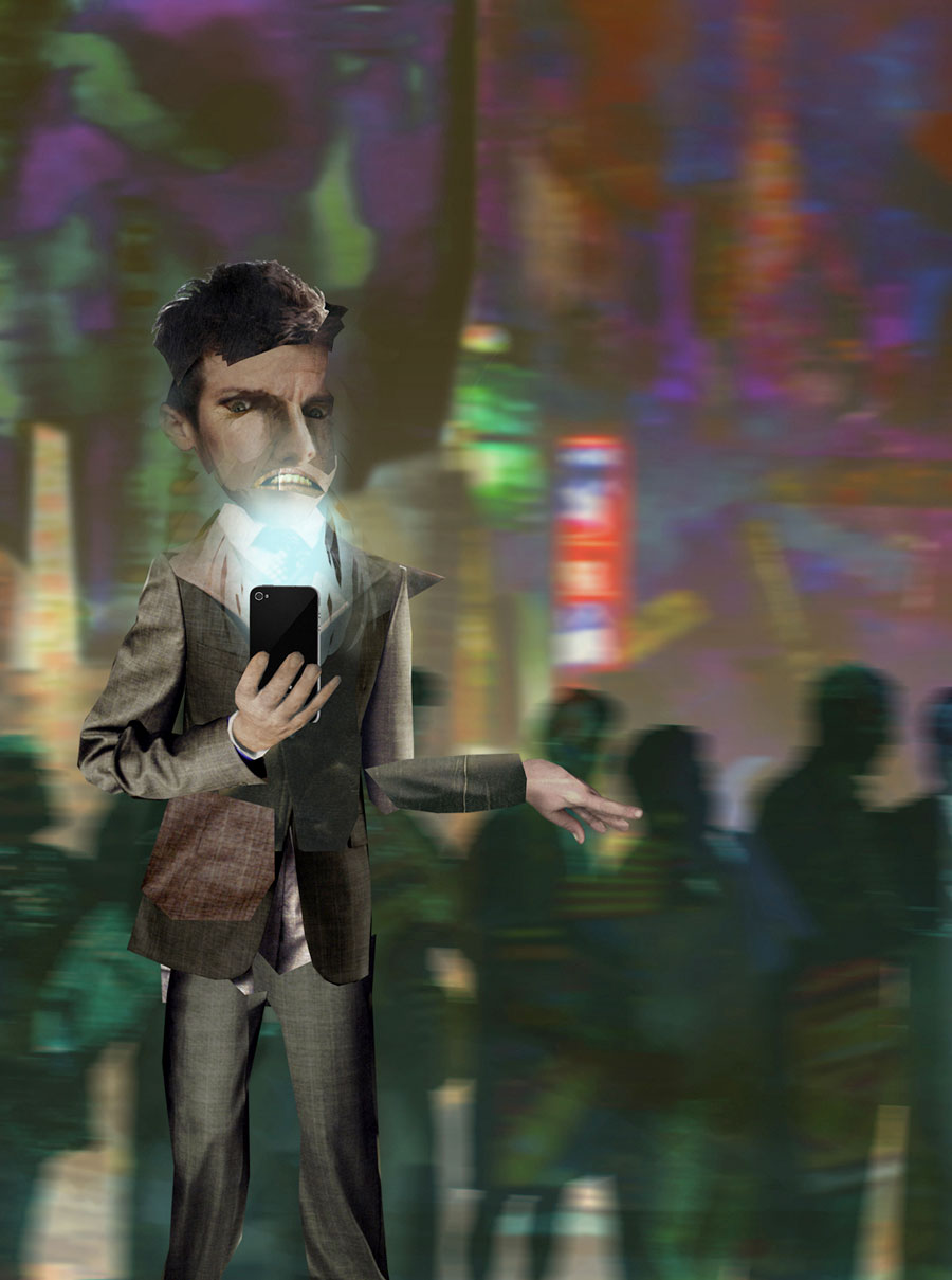 Phone Stop World, by Jason Skinner