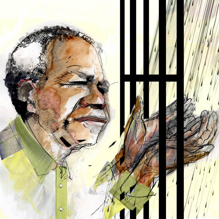 Nelson Mandela 2, by Jason Skinner