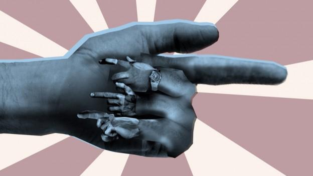 Pointing Fingers, by Jason Skinner