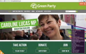 Greens website