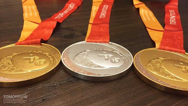 Morgan's Parapan Am medals