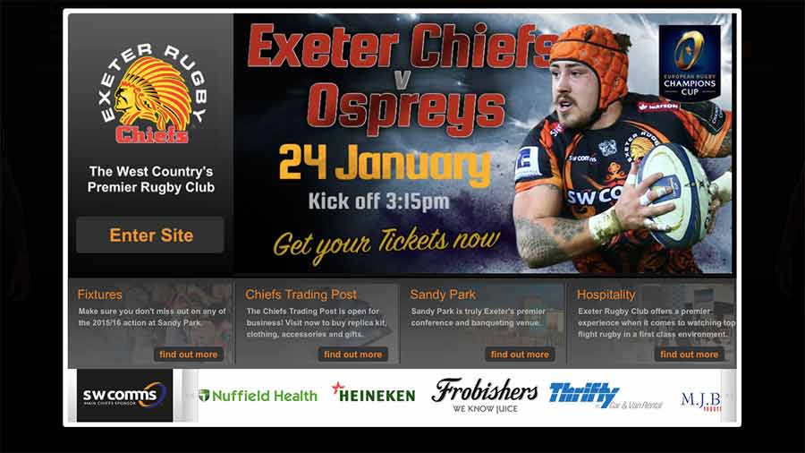 Exeter Chiefs online