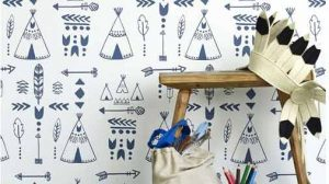 """Teepee wallpaper"""